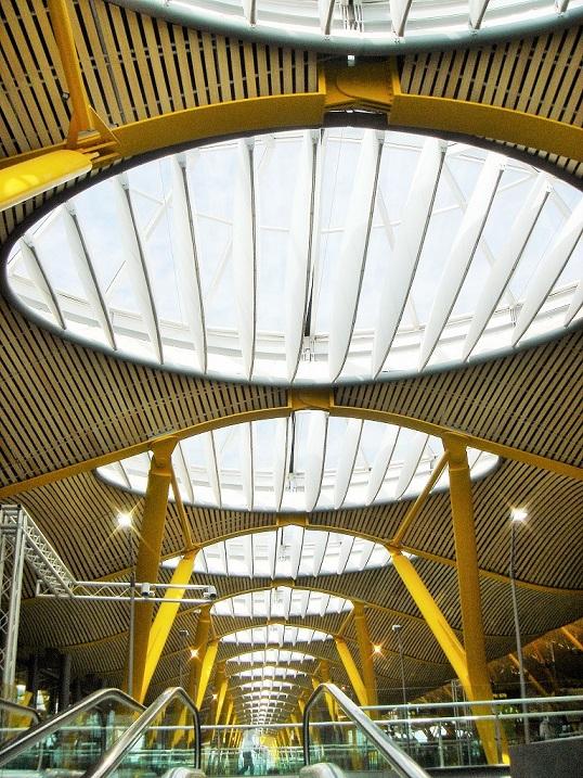 lucernarios aeropuerto Madrid