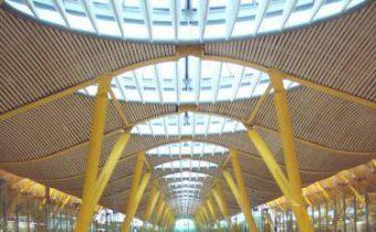 lucernarios aeropuerto Barajas Madrid