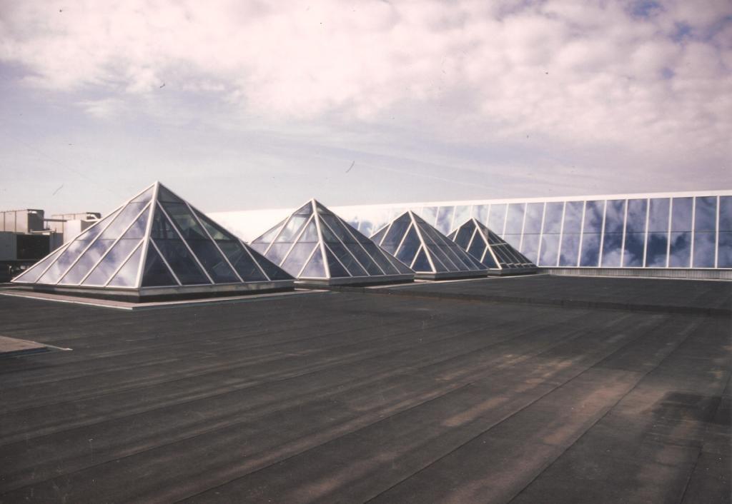 lucernarios piramidales