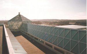 Lucernario dos aguas y piramidal