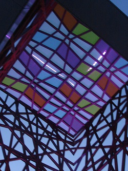cubierta de vidrio