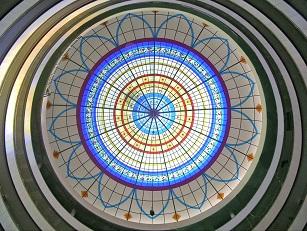 cupula de vidrio
