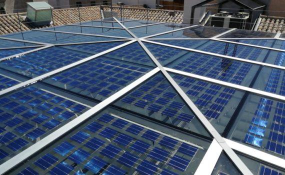 lucernario fotovoltaico